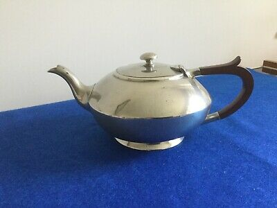 Antique Cornish Pewter Teapot Made By James Dixon & Sons Sheffield • 12.50£