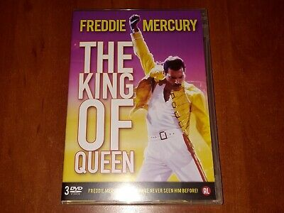 £35.95 • Buy FREDDIE MERCURY THE KING OF QUEEN 3x DVD BOX DOCUMENTARY FOOTAGE INTERVIEW New