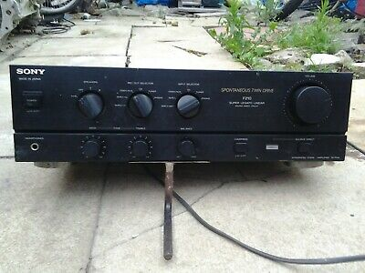 Sony Integrated Stereo Amplifier TA-F210 • 35£