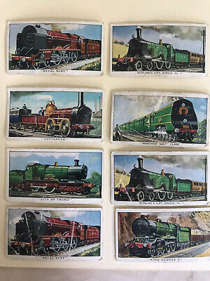 Kelloggs Cards, The Story Of The Locomotive, Series 1 X 8 • 0.99£