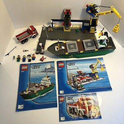 £89.99 • Buy LEGO City Harbour Harbor 4645 100% Complete With Instructions Liner Ship