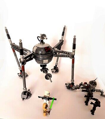 LEGO Star Wars Homing Spider Droid (75016) - Rare, All Pieces And Mini-figures • 24.95£