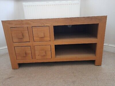 Next Oak Tv Unit  • 100£
