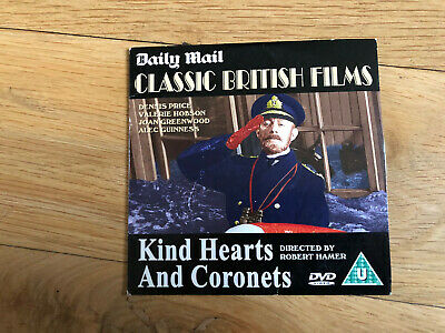 Kind Hearts And Coronets Dvd • 1£