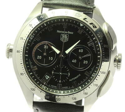 £1536.22 • Buy Auth Tag Heuer Watch Slr Mercedes Benz Chronograph Cag2110 Automatic 45mm Black