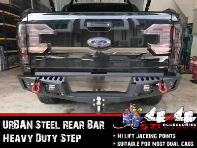 AU699 • Buy Rear Bar For Toyota Hilux N70 2012-15 Heavy Duty Steel, LED LIGHT