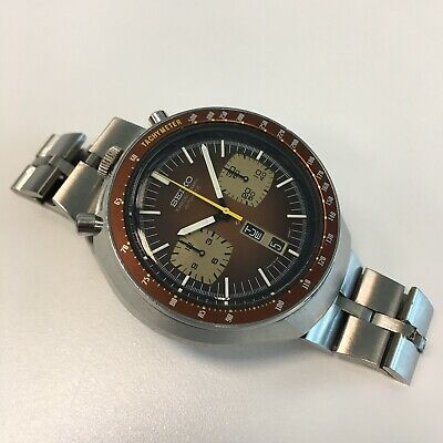 $ CDN1270.43 • Buy  Vintage Seiko 6138 Automatic Chronograph