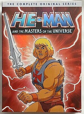 $39.99 • Buy New He-man & The Masters Of The Universe The Complete Original Series Dvd 16disc