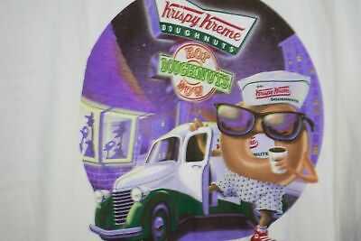 $75 • Buy Vtg Krispy Kreme Hot Doughnuts Now Deadstock W/Tags T Shirt Men's XXL 2X