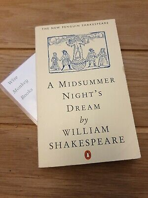 A Midsummer Night's Dream By William Shakespeare 1995 Paperback • 5.50£