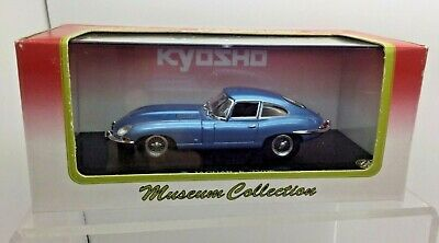 Kyosho 1/43 Scale Jaguar E-Type Coupe - Blue - Boxed - Museum Collection • 36.99£