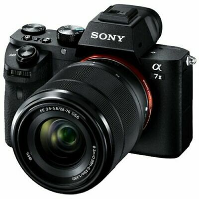 $ CDN1426.75 • Buy SONY Alpha A7 II ILCE-7M2K Mirrorless Camera W/ FE 28-70mm F/3.5-5.6 OSS Lens Kt