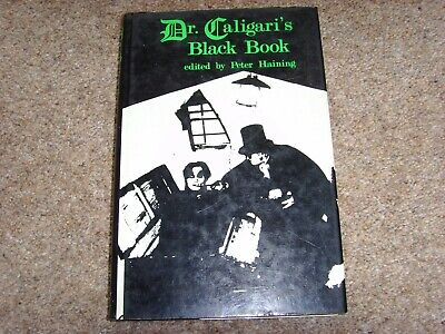 Dr. Caligari's Black Book - Ed Peter Haining - Rare First Edition In DW • 19.95£