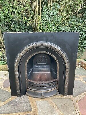 Henley Cast Iron Fireplace / Fire Surround / Insert / Victorian Arch Style • 10£