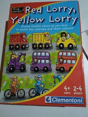 Red Lorry, Yellow Lorry Young Learners Traffic Game, Cars, Bikes • 0.99£