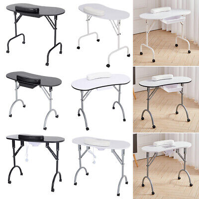 £65.95 • Buy Portable Manicure Table Nail Art Desk With Carry Bag Spa Beauty Salon Equipments