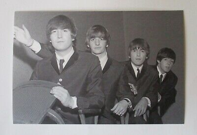 The Beatles 1964 Postcard Photo By Paul Berriff Black & White • 12.99£