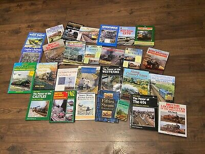 COLLECTION OF 28 RAILWAY BOOKS JOB LOT Model Railways, Railway History • 60£