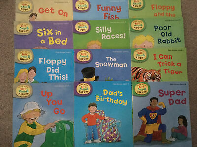 Biff Chip And Kipper First Stories Level 1-3 (12 Books) Oxford Reading Tree • 24.95£