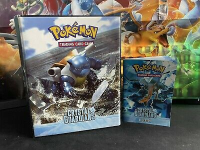 2006 Pokemon EX Crystal Guardians COMPLETE SET & BINDER BRILLIANT • 4,500£