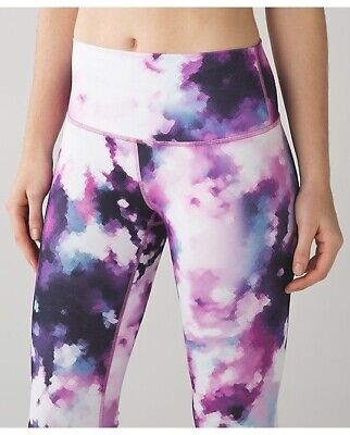 """$ CDN30 • Buy Lululemon High Times Pant. Blooming Pixie. 25"""". Size 8. Please Read."""