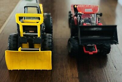 AU35 • Buy Tonka Front End Loader And Case Tractor With Trailer