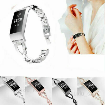 AU16.99 • Buy For Fitbit Alta / Alta HR Alloy Bracelet Wrist Watch Band Strap Lady's'