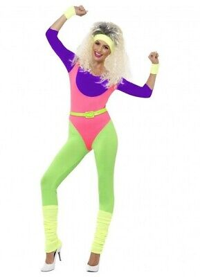 AU69.95 • Buy 1980s Workout Costume