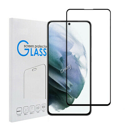 AU4.49 • Buy For Samsung Galaxy S21 S20 Ultra S21 Plus Full Tempered Glass Screen Protector