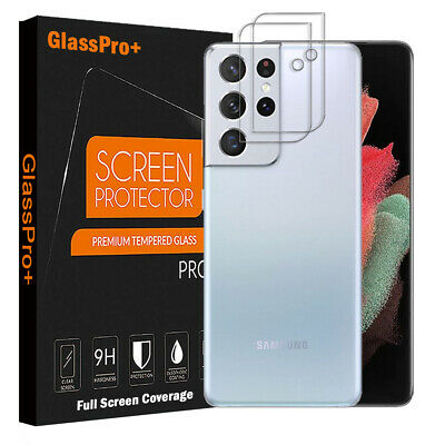 AU5.90 • Buy For Samsung Galaxy S21 Ultra S21+ S20 Plus Camera Lens Tempered Glass Protector
