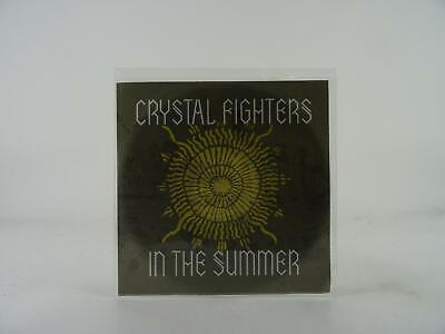 CRYSTAL FIGHTERS IN THE SUMMER (B98) 1 Track Promo CD Single Picture Sleeve • 3.28£