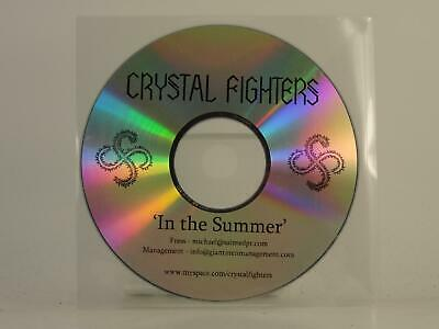 CRYSTAL FIGHTERS IN THE SUMMER 1 Track Promo CD Single Plastic Sleeve • 2.87£