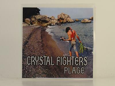 CRYSTAL FIGHTERS PLAGE 3 Track Promo CD Single Picture Sleeve ZIRKULO • 3.27£