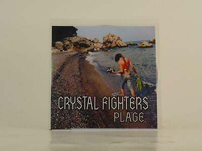 CRYSTAL FIGHTERS PLAGE (E25) 3 Track Promo CD Single Picture Sleeve • 3.29£