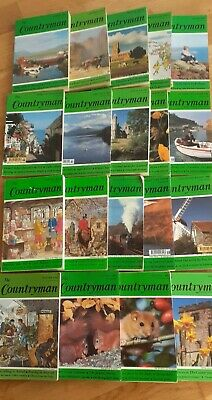 The Countryman Magazine 19 Issues Between 1984 1992 - Illustrated Countryside • 14.99£
