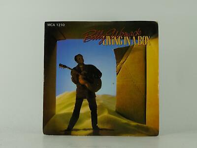 BOBBY WOMACK LIVING IN A BOX (8) 2 Track 7  Single Picture Sleeve MCA RECORDS • 3.41£