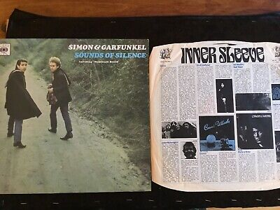 Vintage Simon & Garfunkel Sounds Of Silence - Vinyl Good Used Condition - 1966 • 5£