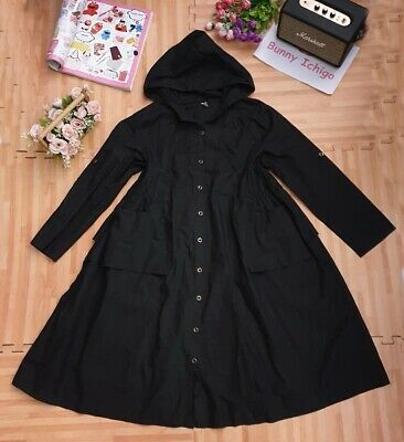 $ CDN50.74 • Buy 🍓 Y.K.L.R🐰 Women's Dress Jacket Coat Hoodie Lolita Japanese Style Cute Black