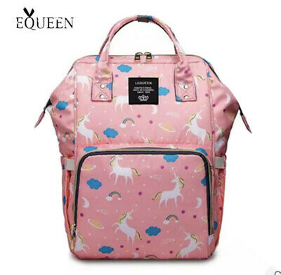 AU60 • Buy LeQueen Unicorn Backpack Pink Brand New