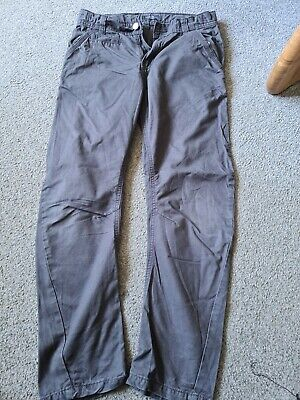 Marks And Spencer Limited Collection Age 10-11 Grey Twisted Chino Trousers  • 6£