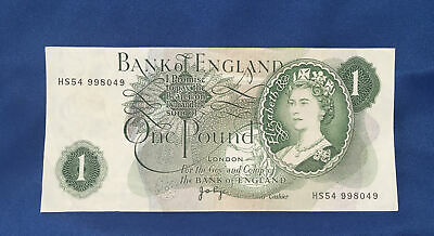 Old Bank Of England £1 One Pound Note. Very Clean • 1£