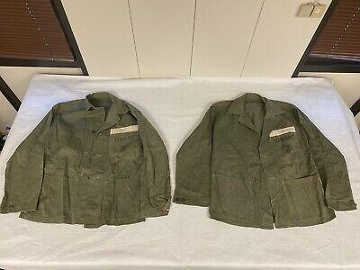 $350 • Buy USMC Marine WW2 P41 HBT Top Named ! -2-
