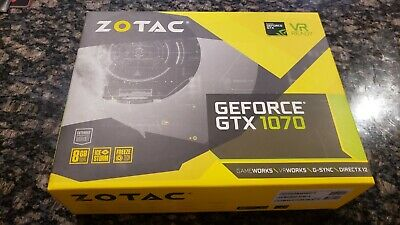 $ CDN324 • Buy Zotac Geforce GTX 1070 GDDR5 8GB VR Ready