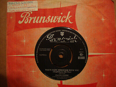 Patsy Cline,  When I Get Through With You,  Brunswick Records 1962  • 2.49£