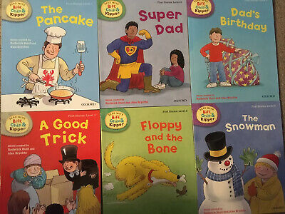 Biff Chip And Kipper First Stories Books Level 1-3 (6 Books) Oxford Reading Tree • 16.95£