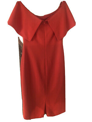 AU75 • Buy CARLA ZAMPATTI DRESS SIZE 6 - Red
