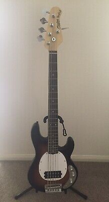 AU849 • Buy Sterling By Music Man RAY5, 3-Tone Sunburst, 5-String Bass, AS NEW Condition