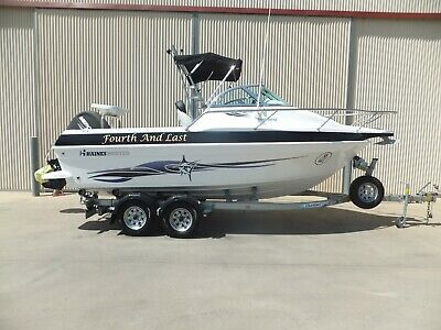 AU57990 • Buy 2015 Haines Hunter 565 Offshore.mercury 135hp 4 Stroke (33 Hours) Tandem Trailer
