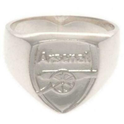£30 • Buy Arsenal FC Sterling Silver Crest Ring Size U