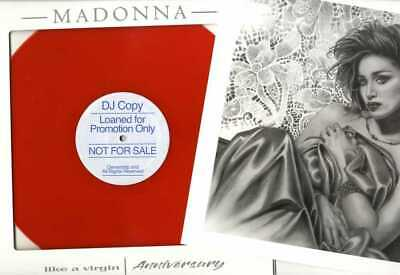 MADONNA - LIKE A VIRGIN (Anniversary) LP TEST PRESSING VINYL In Picture Sleeve • 49£